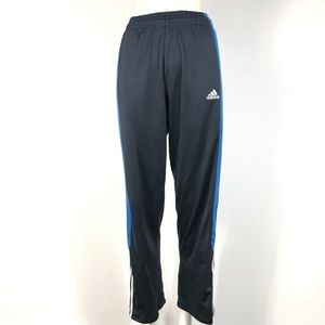 adidas climalite sweatpants small women Navy blue